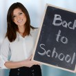 Teacher At School — Stock Photo