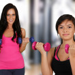 Woman Working Out — Stock Photo #26628997