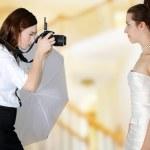 Wedding Photographer — Stock Photo