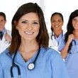 Doctors and Nurses — Stock Photo #29131679