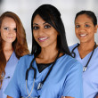 Group Of Nurses — Stock Photo