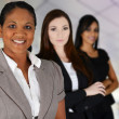 Stock Photo: Businesswomen