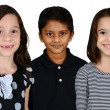 Children Together On White Background — Stock Photo #40172431