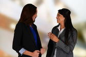 Businesswoman Meeting — Stock Photo