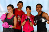 Group Boxing — Foto de Stock