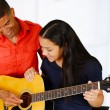 Teen Guitar Player — Stock Photo #48733945