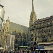 St. Stephen's Cathedral Vienna — Stock Photo