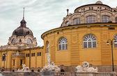 Szechenyi Baths in Budapest Hungary — Stock Photo