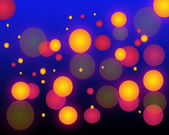 Bright abstract background with circles — Stock Photo