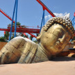 Buddha statue in the Port Aventura — Stock Photo