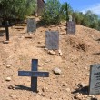 Wild west cemetery - Stock Photo