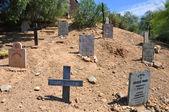 Wild west cemetery — Stock Photo