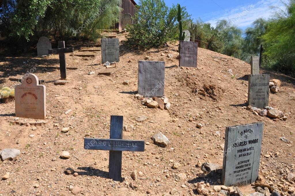 Wild west cemetery stock editorial photo canarino for Cementerio jardin del oeste