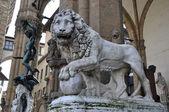 Loggia dei Lanzi in Florence — Stock Photo