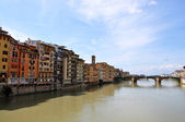 Ponte Santa-Trinita in Florence — Stock Photo
