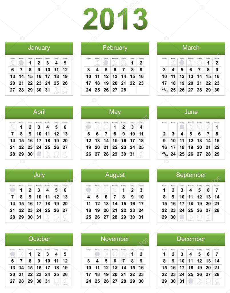 "Calendar Green : Search results for ""calendar with the moon phases"