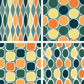 Seamless retro geometric pattern — Vector de stock