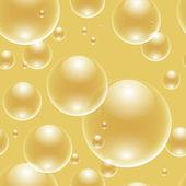 Seamless bubbles — Stock Vector