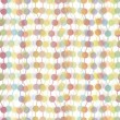 Colorful transparent dots seamless background pattern - Image vectorielle