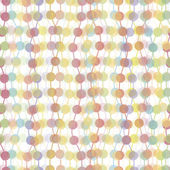 Colorful transparent dots seamless background pattern — Stock Vector