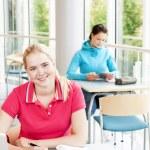 Students studying — Stock Photo