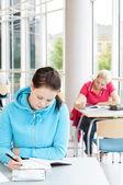 Studentów studiujących — Zdjęcie stockowe