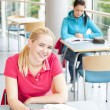 Students studying — Stock Photo #13438208