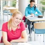 学习的学生 — 图库照片