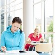 Foto de Stock  : Students studying