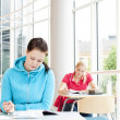 Stockfoto: Students studying