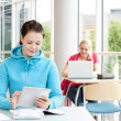 Students studying — Stockfoto