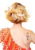Pin-up girl — Stock fotografie