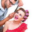 Hairstyler — Stock Photo
