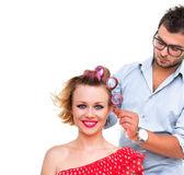 Hairstyler — Stock Photo