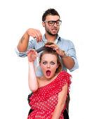 Hairstyler — Stockfoto