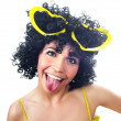 Funny woman - Stock Photo