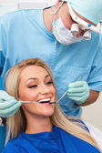 Diş hekimi — Stok fotoğraf