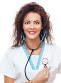 Doctor woman — Stock Photo