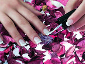 Beatiful nails — Stock Photo