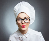 Woman cook — Stockfoto