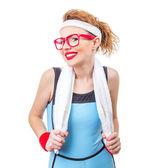 Mujer de deportes — Foto de Stock