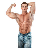 Body-builder — Stockfoto
