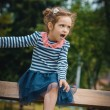 Little girl - child — Stock Photo