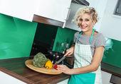 Cuoco donna — Foto Stock