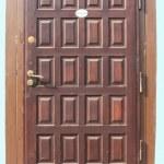 Постер, плакат: Wooden doors