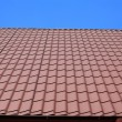 Stock Photo: Roof of terracotta.
