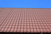 The roof of terracotta. — Stock Photo