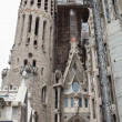Sagrada Familia. The construction. - Stock Photo