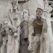 Sagrada Familia. Figures.. - Stock Photo