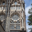 Sagrada Familia. Restoration.. - Stock Photo